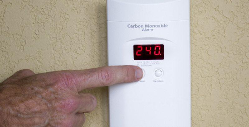 Average Level of Carbon Monoxide in Homes