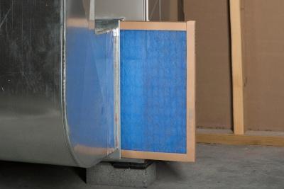 An HVAC filter.