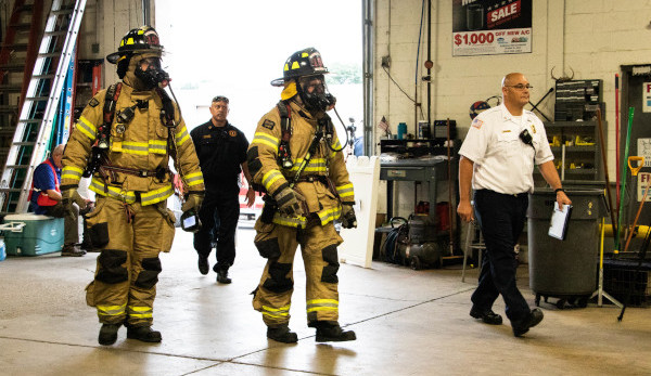 Mock Fentanyl Lab at Fire & Ice Helps First Responders